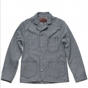 Freenote Cloth Houndstooth Workers Jacket